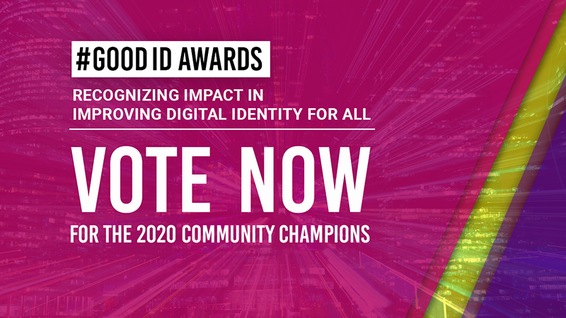 GoodID Awards Promo GoodID Vote Now1 1