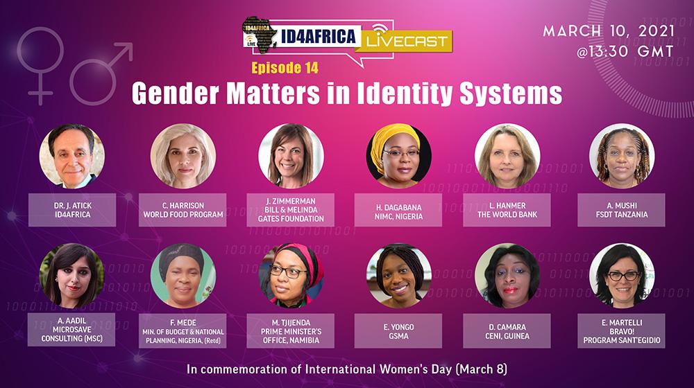 Gender Matters in Identity Systems - ID4Africa Webinar