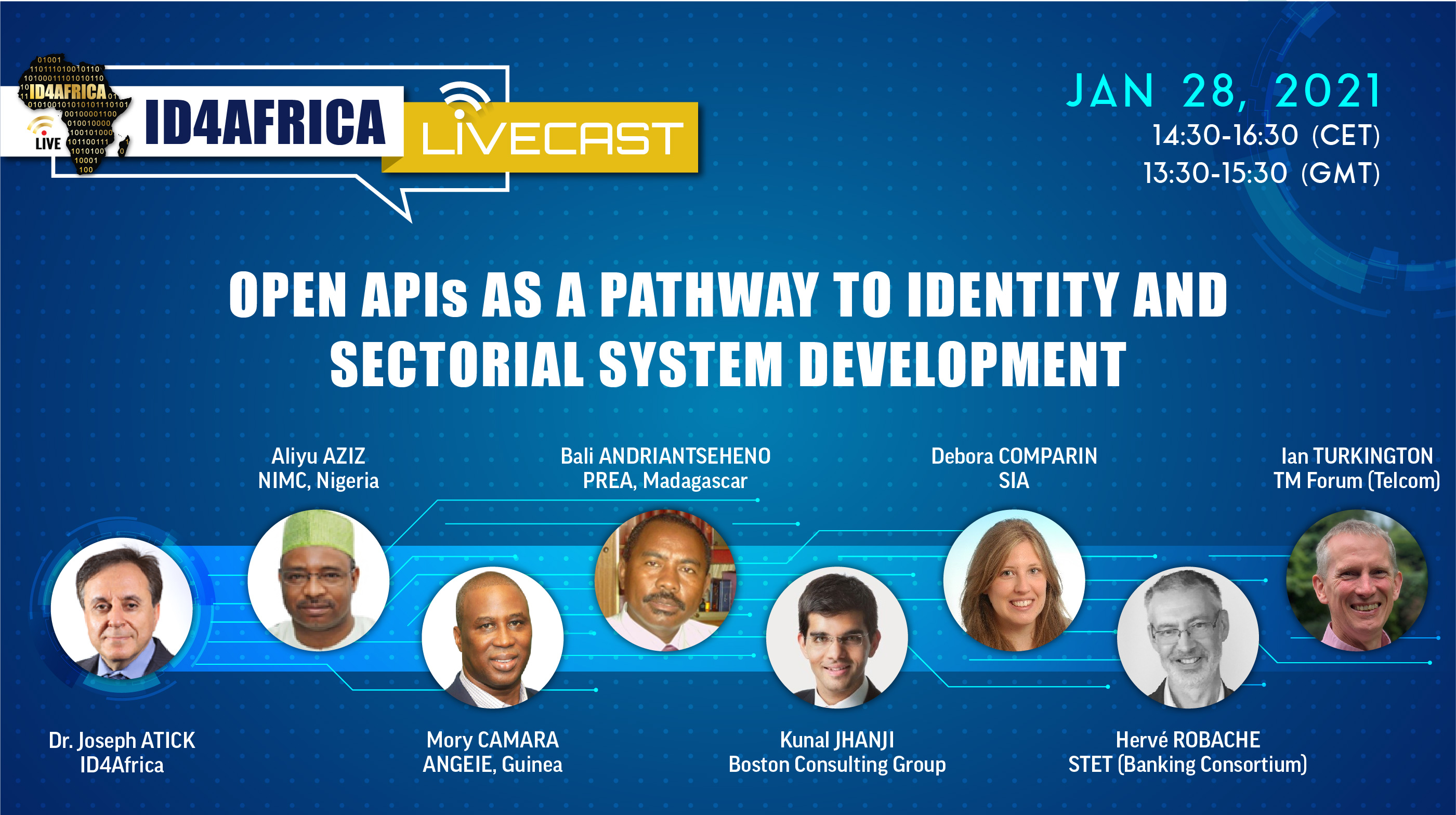 Open APIs as a Pathway to Identity and Sectorial System Development - Webinar