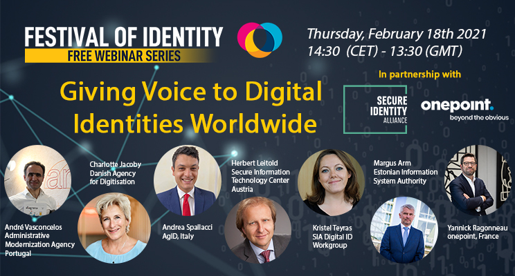 Giving Voice to Digital Identities Worldwide - Webinar Replay