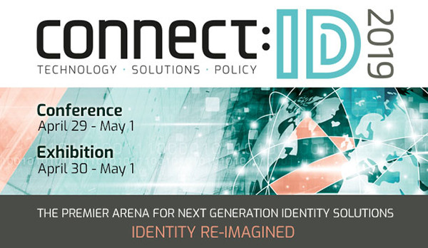 Conference: Connect:ID, 29 Apr - 1 May 2019, Washington DC, USA