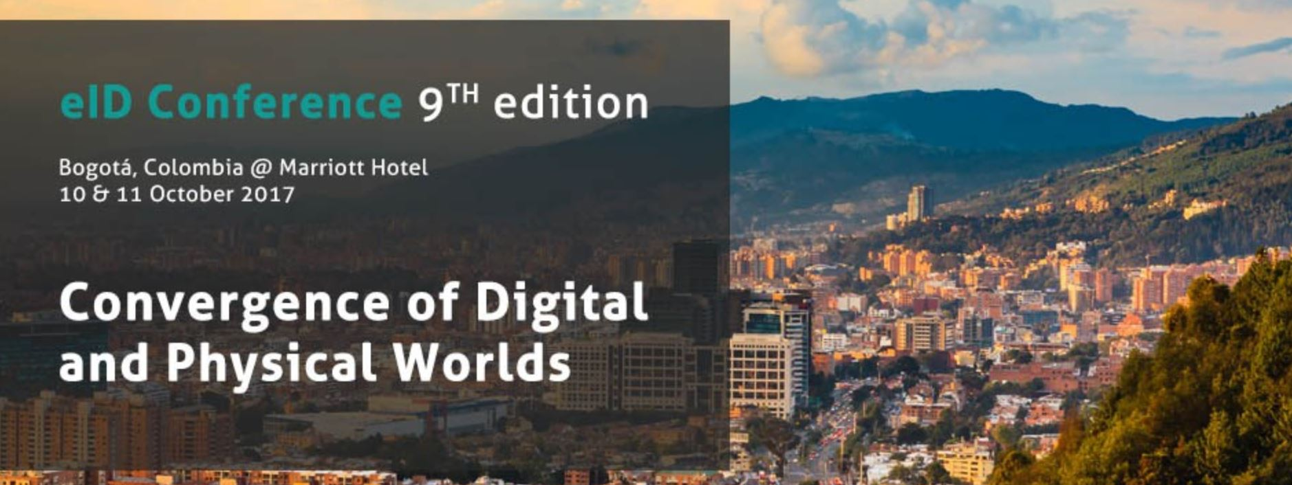 eID Conference, 9th edition, Bogotá, Colombia